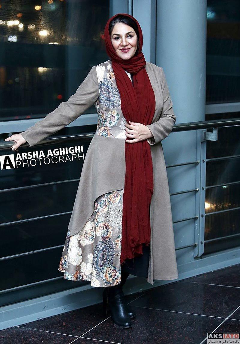 بازیگران بازیگران زن ایرانی  ستاره اسکندری در برنامه دو قدم مانده به سیمرغ (۵ عکس)