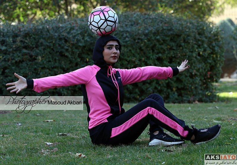 بازیگران بازیگران زن ایرانی  عکس های ستاره حسینی با تیپ ورزشی (4 تصویر)
