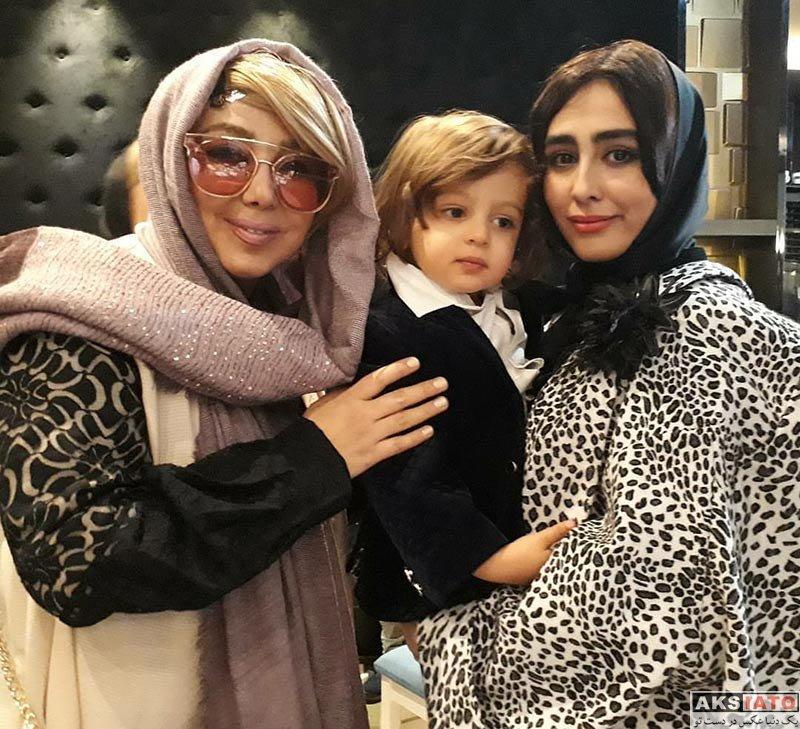 بازیگران بازیگران زن ایرانی  عکس های ستاره حسینی در دی ماه ۹۶ (10 تصویر)
