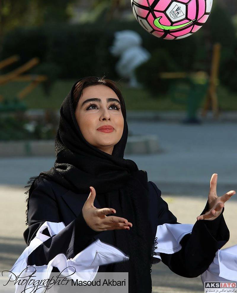 بازیگران بازیگران زن ایرانی  عکس های ستاره حسینی برای مجله ورزش و تصویر (6 تصویر)