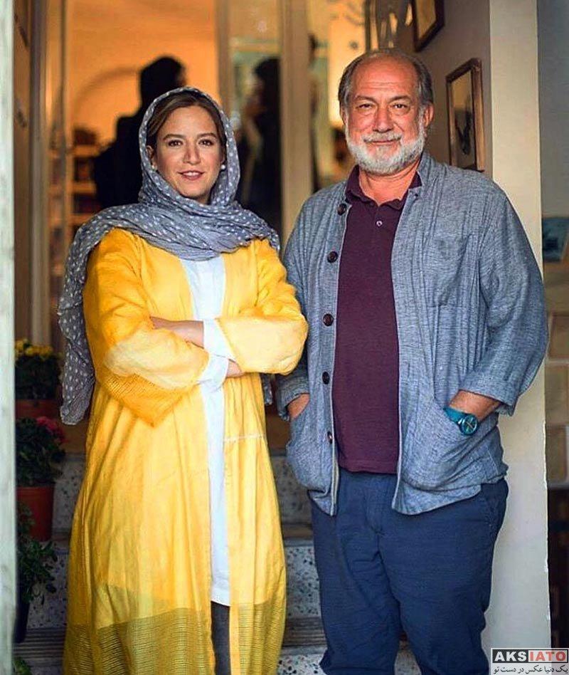 بازیگران بازیگران زن ایرانی  عکس های خاص ستاره پسیانی با پدرش (3 تصویر)