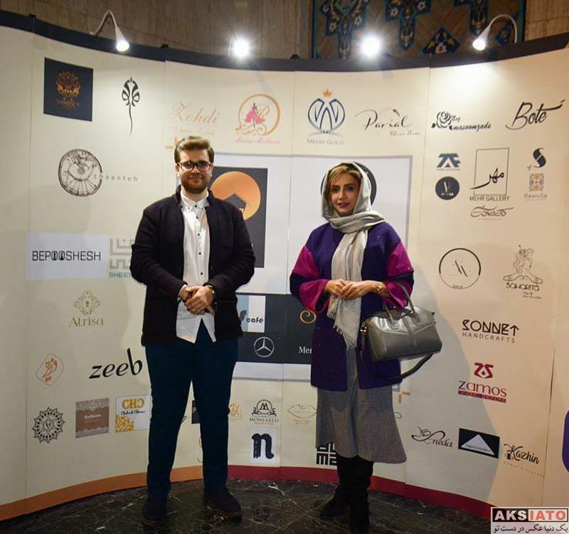 بازیگران بازیگران زن ایرانی  شبنم قلی خانی در رویداد طراحان برتر لباس (3 عکس)