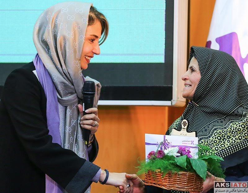 بازیگران بازیگران زن ایرانی  شبنم قلی خانی در مراسم تجلیل از مقام مادران اوتیسم (4 عکس)