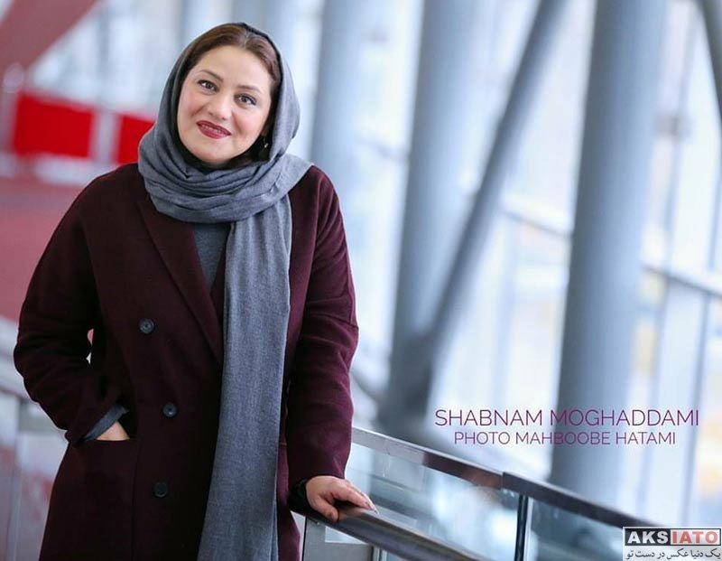 بازیگران بازیگران زن ایرانی  شبنم مقدمی در برنامه دو قدم مانده به سیمرغ (6 عکس)