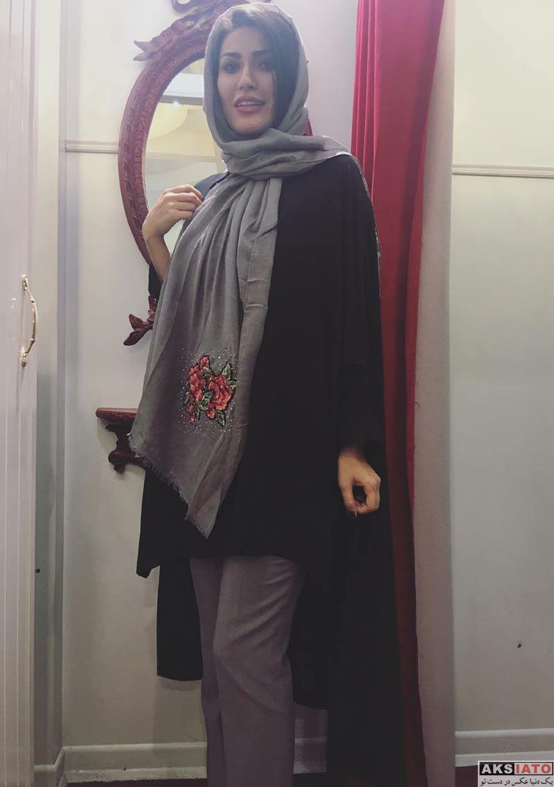 بازیگران بازیگران زن ایرانی  عکس های شیوا طاهری در دی ماه ۹۶ (6 تصویر)