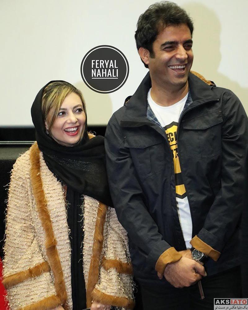 بازیگران بازیگران زن ایرانی  یکتا ناصر در اکران مدیم فیلم آینه بغل در سینما کوروش (۵ عکس)