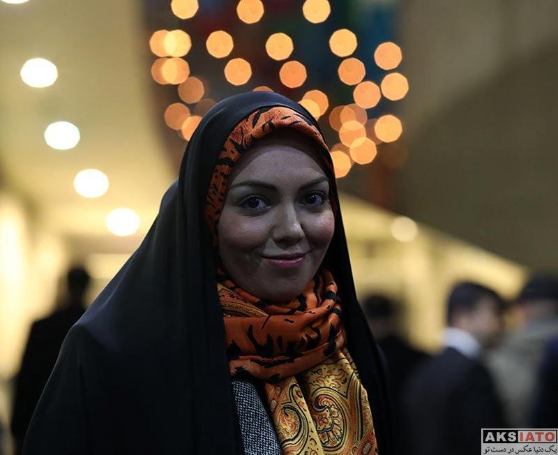بازیگران جشنواره فیلم فجر  آزاده نامداری در روز سوم جشنواره فیلم فجر 36 (3 عکس)
