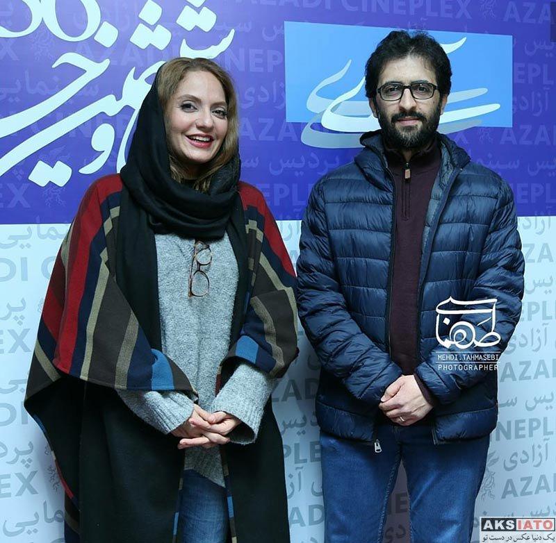 بازیگران جشنواره فیلم فجر  مهناز افشار در اکران فیلم دارکوب در جشنواره فیلم فجر 96 (7 عکس)