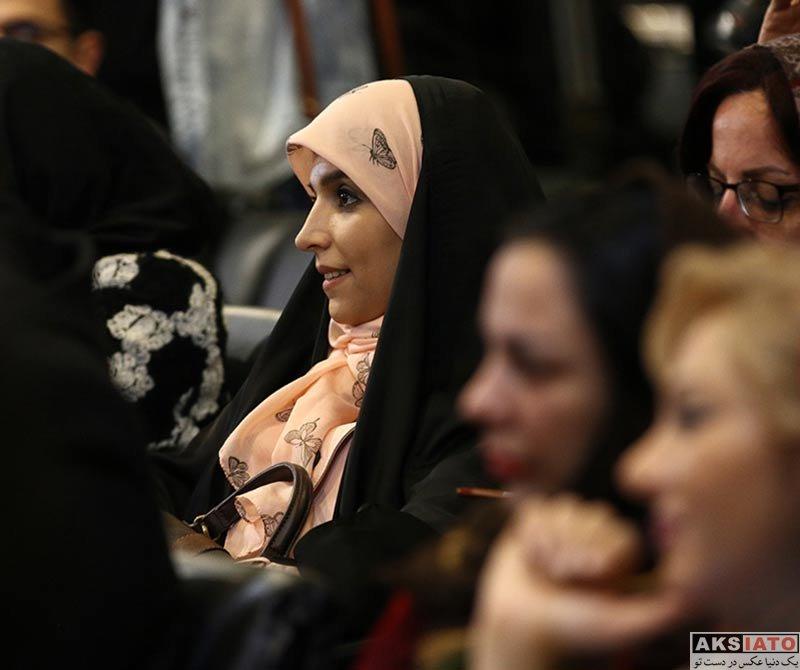 بازیگران جشنواره فیلم فجر  مژده لواسانی در روز سوم جشنواره فیلم فجر ۳۶ (2 عکس)