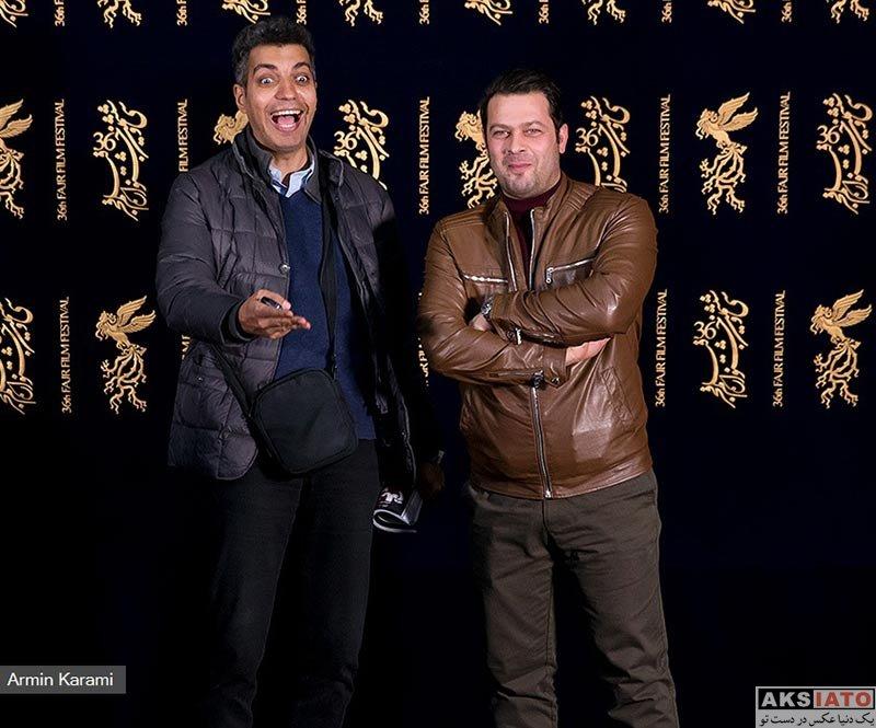 بازیگران جشنواره فیلم فجر  عادل فردوسی پور در روز دوم جشنواره فیلم فجر 96 (3 عکس)