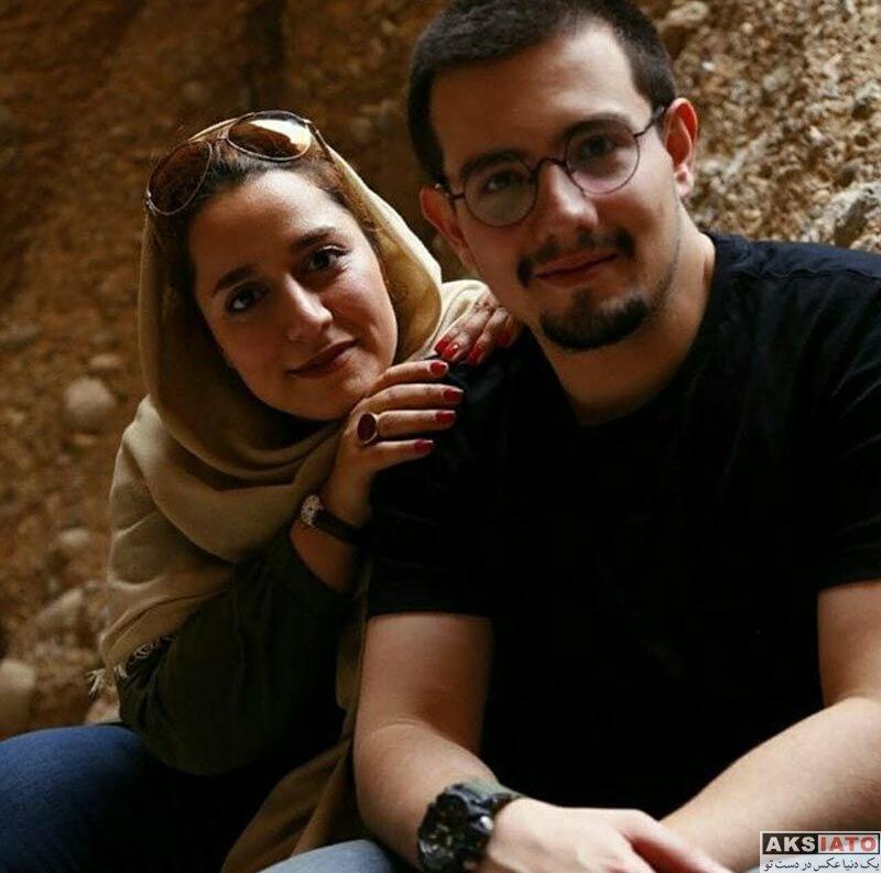 بازیگران بازیگران زن ایرانی  عکس سلفی جدید امیر کاظمی با همسرش