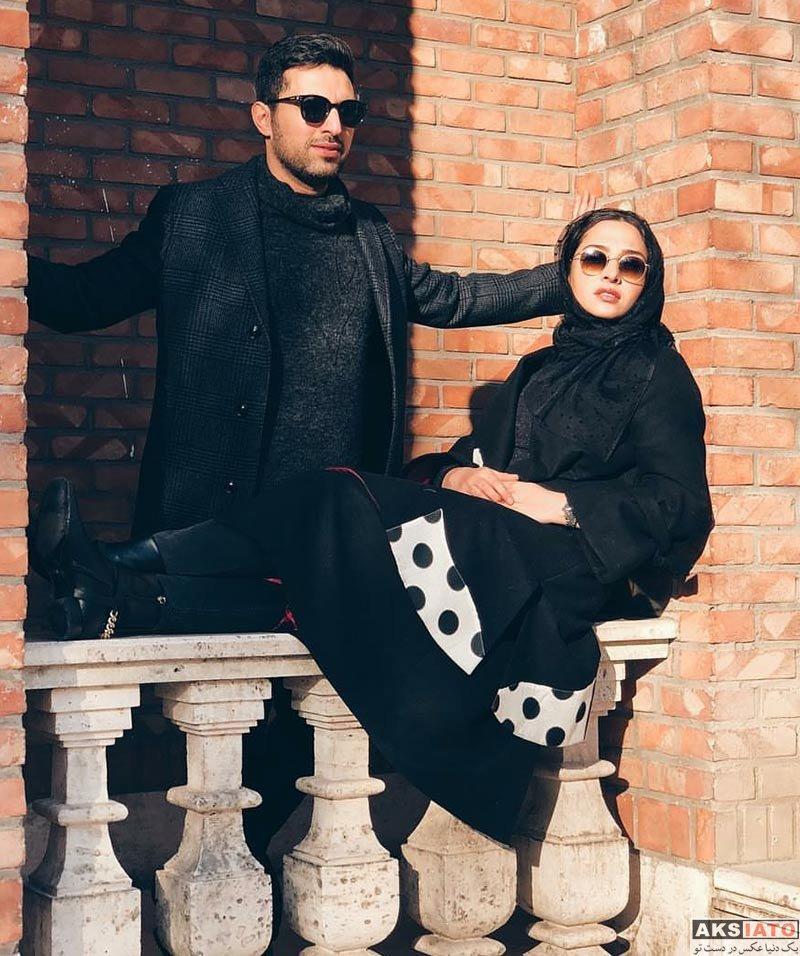 خانوادگی  عکس های اشکان خطیبی و همسرش در بهمن ماه ۹۶ (6 تصویر)
