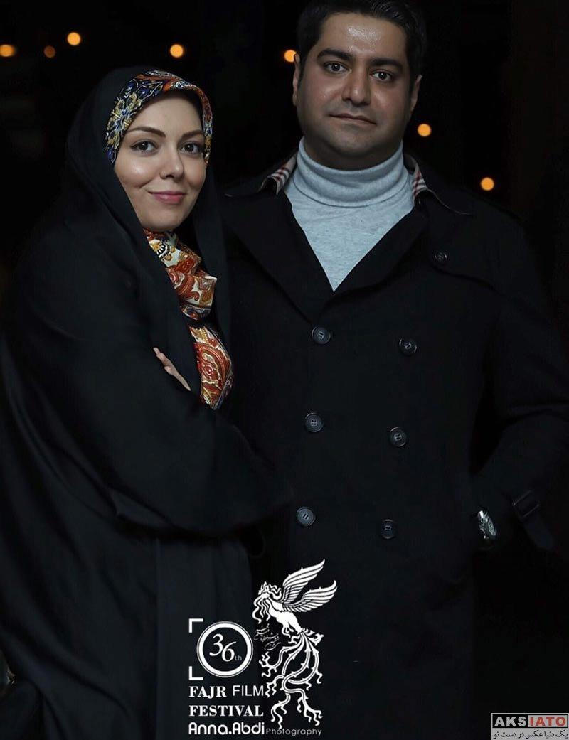 بازیگران جشنواره فیلم فجر  آزاده نامداری در هفتمین روز جشنواره فیلم فجر ۳۶ (4 عکس)