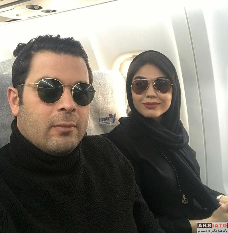 بازیگران بازیگران زن ایرانی  عکس های آزاده زارعی در بهمن ماه ۹۶ (۸ تصویر)