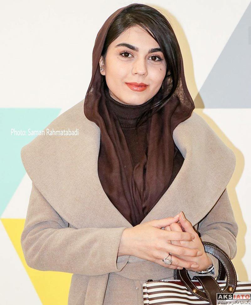 بازیگران جشنواره فیلم فجر  آزاده زارعی در روز نهم جشنواره فیلم فجر ۳۶ (5 عکس)