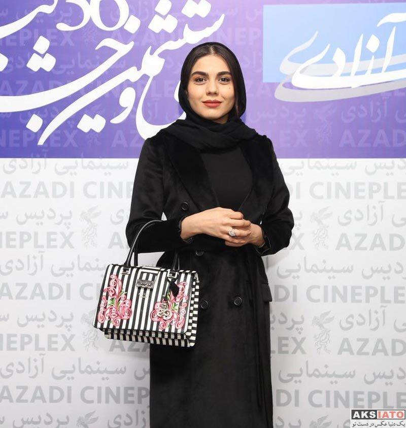 بازیگران جشنواره فیلم فجر  آزاده زارعی در اکران مردمی فیلم هایلایت در جشنواره فیلم فجر (۶ عکس)
