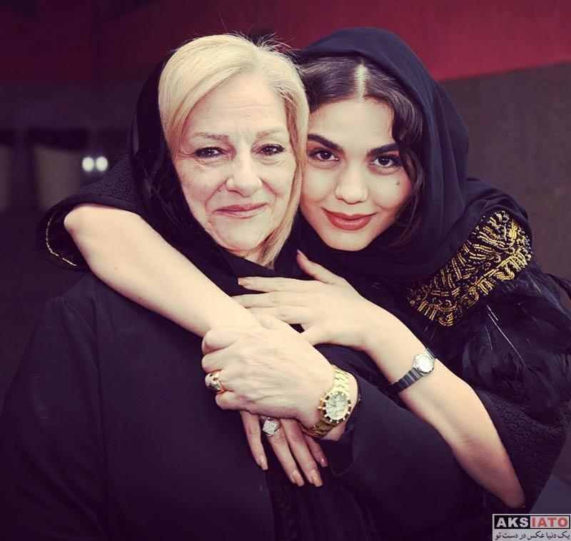 بازیگران جشنواره فیلم فجر  آزاده زارعی در روز چهارم جشنواره فیلم فجر ۳۶ (5 عکس)