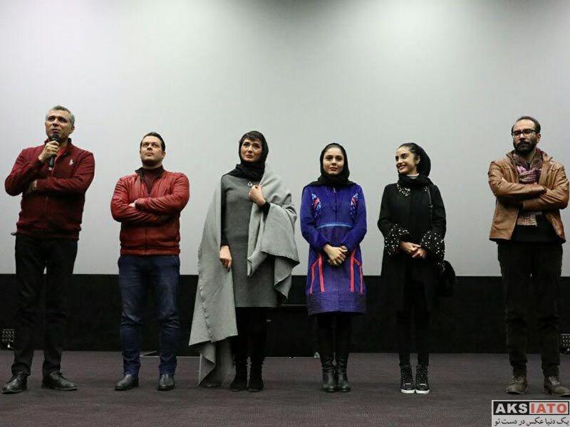 بازیگران جشنواره فیلم فجر  آزاده زارعی در روز ششم جشنواره فیلم فجر ۳۶ (4 عکس)