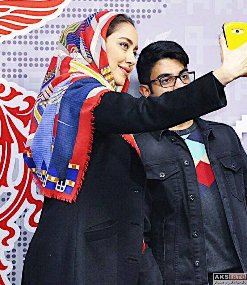 بازیگران جشنواره فیلم فجر  بهاره کیان افشار در شب سوم جشنواره فیلم فجر 36 (3 عکس)
