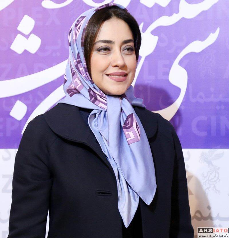 بازیگران جشنواره فیلم فجر  بهاره کیان افشار در سی ششمین جشنواره فیلم فجر (6 عکس)