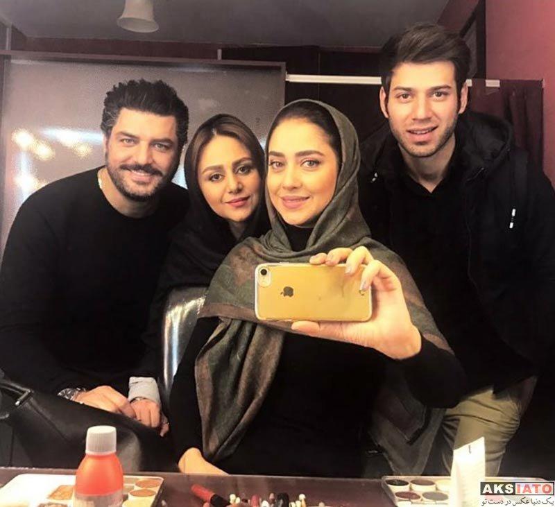 بازیگران بازیگران زن ایرانی  عکس های بهاره کیان افشار در بهمن ماه ۹۶ (10 تصویر)