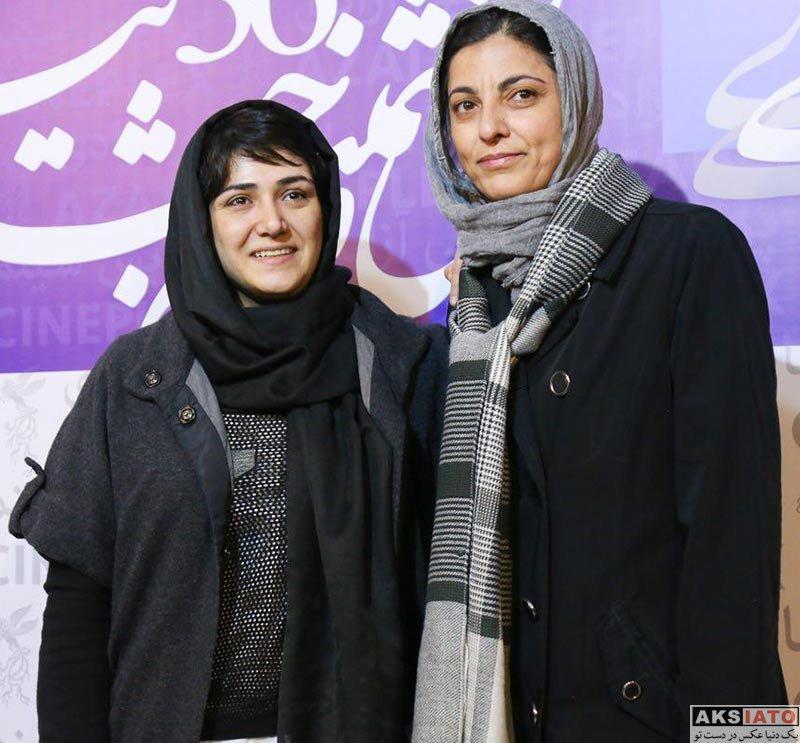 بازیگران جشنواره فیلم فجر  باران کوثری در روز ششم 36مین جشنواره فیلم فجر (4 عکس)