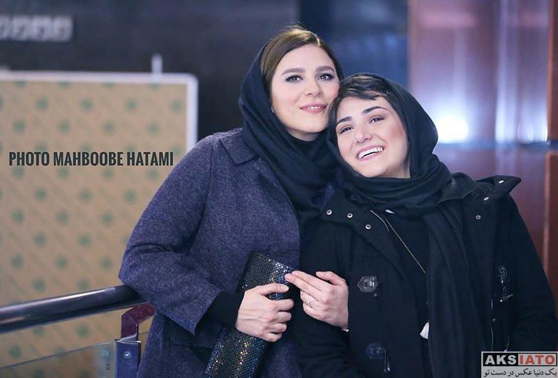 بازیگران جشنواره فیلم فجر  باران کوثری در اکران فیلم عرق سرد در جشنواره فجر (4 عکس)