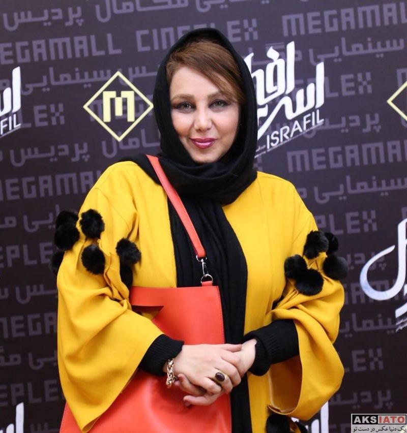 بازیگران بازیگران زن ایرانی  بهنوش بختیاری در اکران مردمی فیلم اسرافیل (6 عکس)