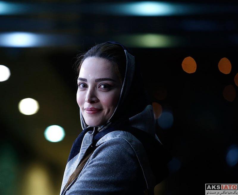 بازیگران جشنواره فیلم فجر  بهنوش طباطبایی در روز هشتم جشنواره فیلم فجر ۳۶ (۱۰ عکس)