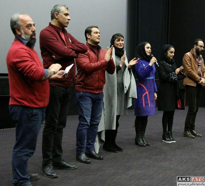 بازیگران جشنواره فیلم فجر  الهه حصاری در روز ششم جشنواره فیلم فجر 36 (3 عکس)