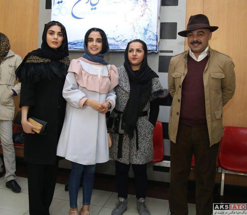 بازیگران جشنواره فیلم فجر  الهه حصاری در سی و ششمین جشنواره فیلم فجر (7 عکس)