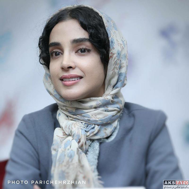 بازیگران جشنواره فیلم فجر  الهه حصاری در روز هفتم جشنواره فیلم فجر ۳۶ (۱۰ عکس)