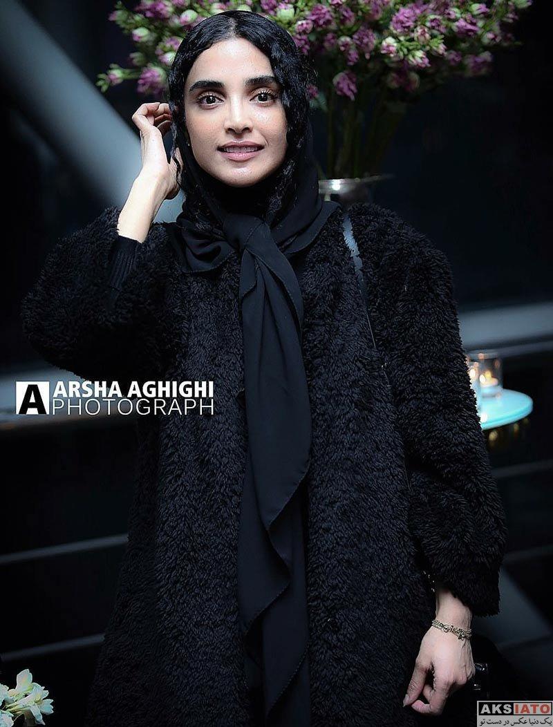 بازیگران بازیگران زن ایرانی  الهه حصاری در اکران خصوصی فیلم بدون تاریخ، بدون امضا (7 عکس)