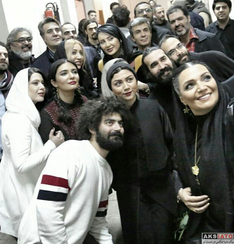 بازیگران بازیگران زن ایرانی  الهام پاوه نژاد در کنسرت تکرار نامنظم بی تو