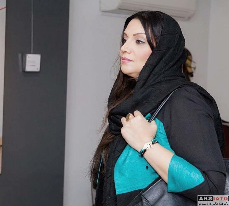 بازیگران بازیگران زن ایرانی  الهام پاوه نژاد بازیگر نقش الهام در سریال هست و نیست (5 عکس)