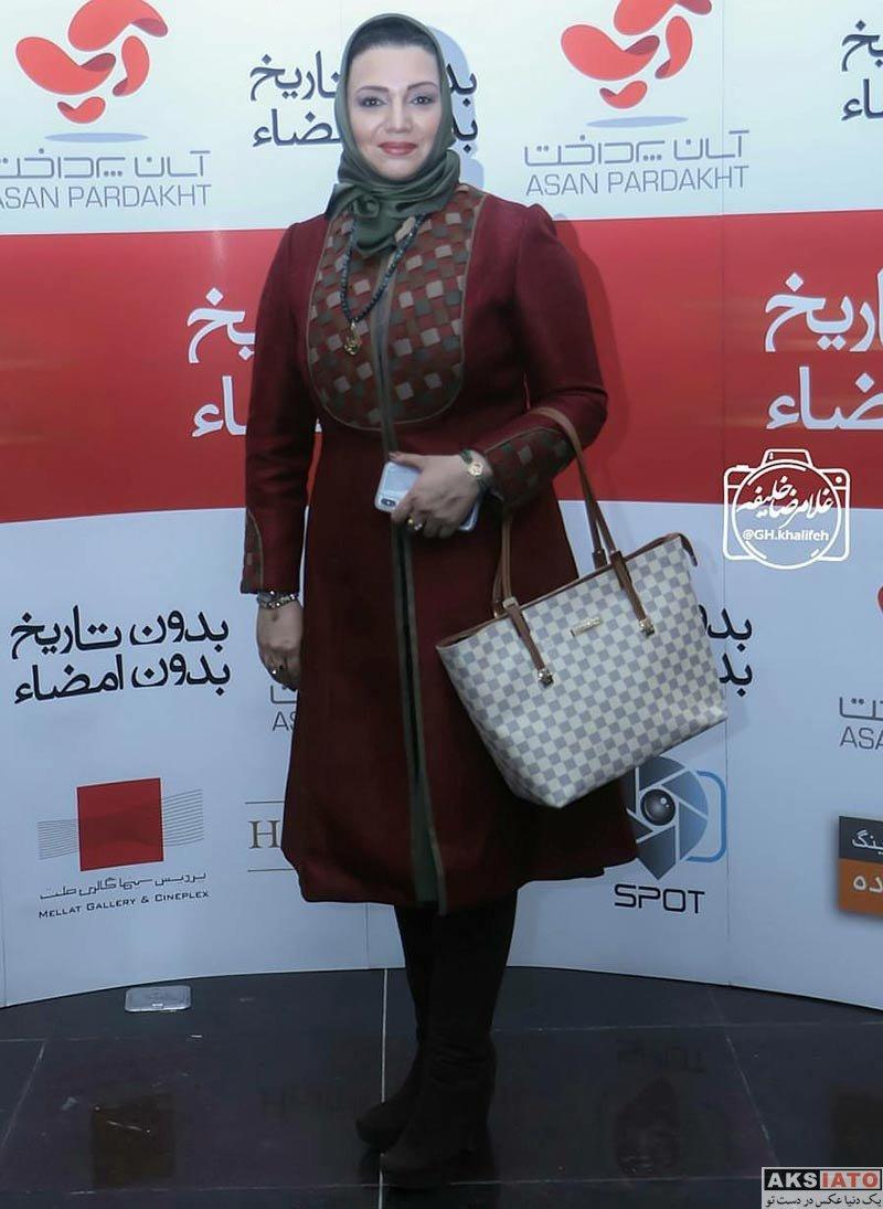 بازیگران بازیگران زن ایرانی  الهام پاوه نژاد در اکران خصوصی فیلم بدون تاریخ، بدون امضا (4 عکس)