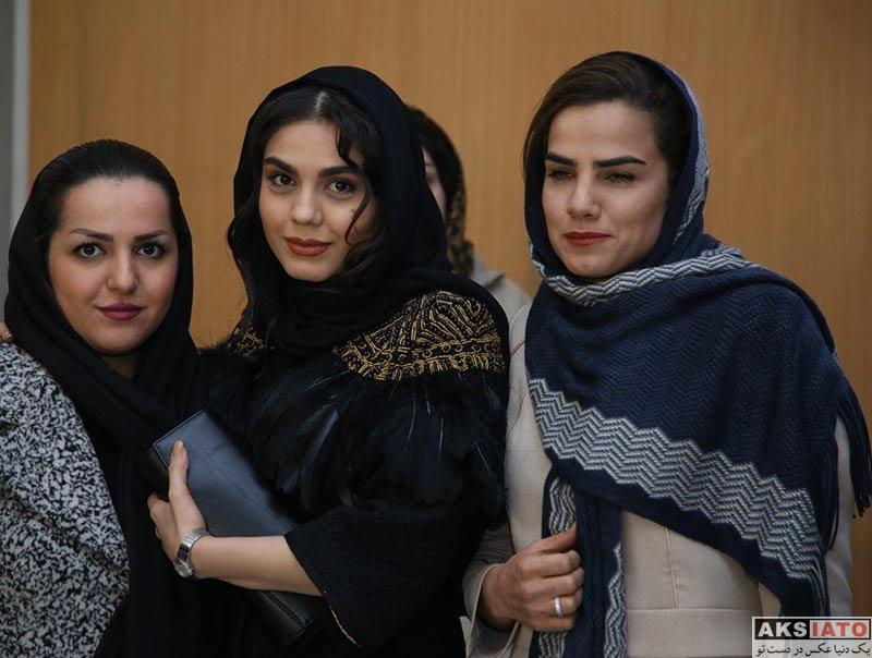 بازیگران جشنواره فیلم فجر ورزشکاران زن  فرشته کریمی در روز چهارم جشنواره فیلم فجر 36 (3 عکس)