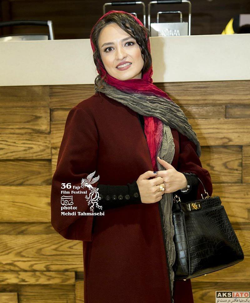 بازیگران جشنواره فیلم فجر  گلاره عباسی در هفتمین روز جشنواره فیلم فجر ۳۶ (6 عکس)