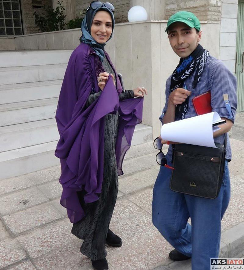 بازیگران بازیگران زن ایرانی  عکس های گلاره عباسی در بهمن ماه ۹۶ (۸ تصویر)