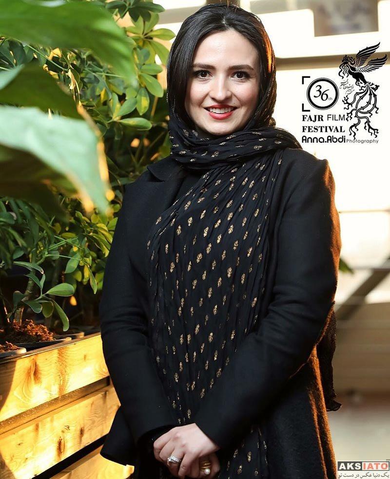 بازیگران جشنواره فیلم فجر  گلاره عباسی در روز دوم جشنواره فیلم فجر ۳۶ (4 عکس)