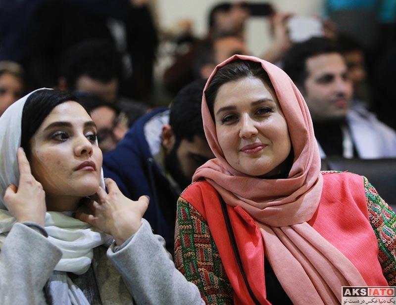 بازیگران جشنواره فیلم فجر  گلوریا هاردی در روز ششم جشنواره فیلم فجر ۳۶ (4 عکس)