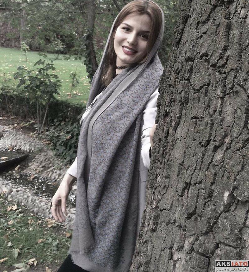 بازیگران بازیگران زن ایرانی  غزاله اکرمی بازیگر نقش آوا یگانه در سریال هست و نیست (8 عکس)