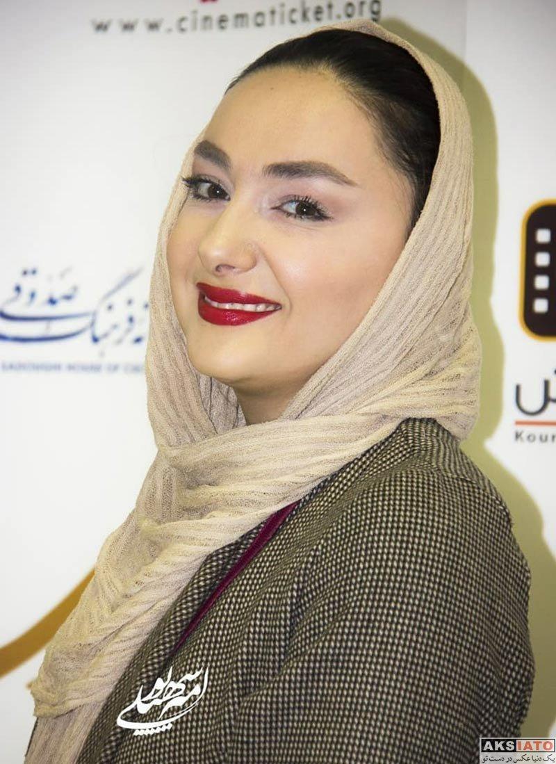 بازیگران بازیگران زن ایرانی  هانیه توسلی در اولین اکران مردمی فیلم مادری (۶ عکس)