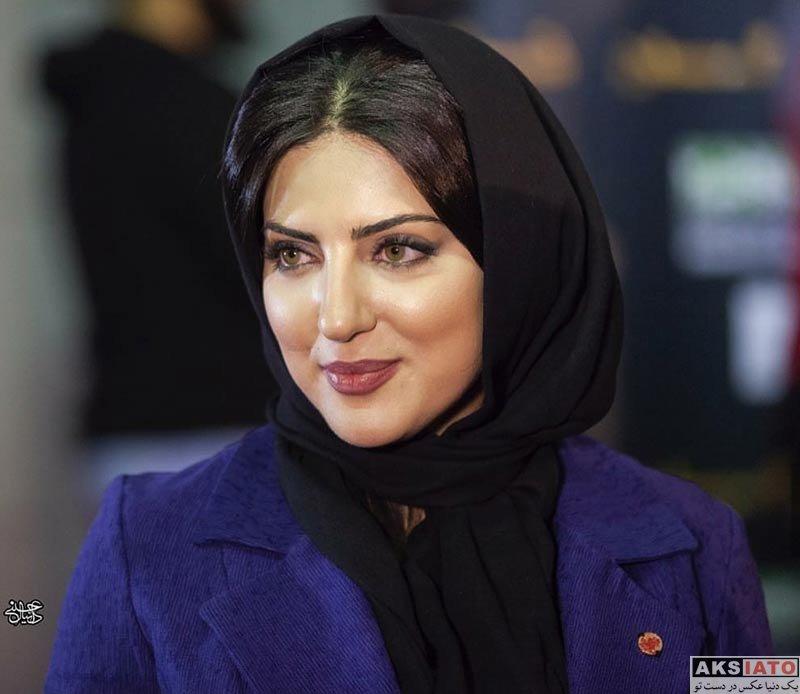 بازیگران بازیگران زن ایرانی  هلیا امامی در اکران خصوصی فیلم بلوک ۹ خروجی ۲ (4 عکس)