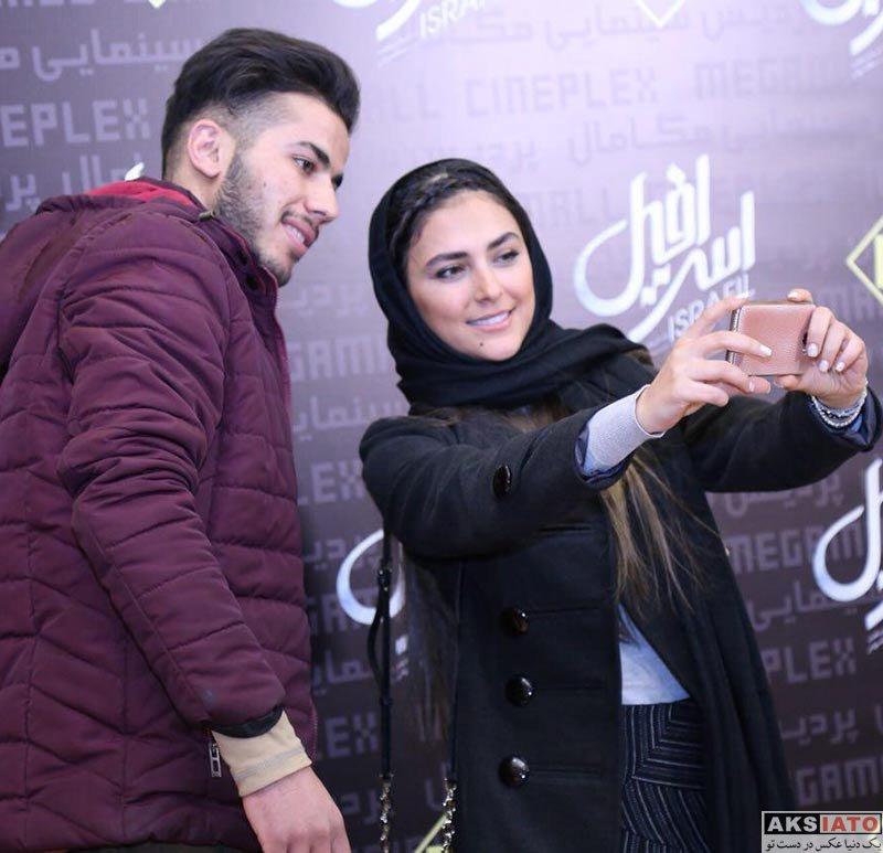 بازیگران بازیگران زن ایرانی  هدی زین العابدین در اکران مردمی فیلم اسرافیل (۶ عکس)