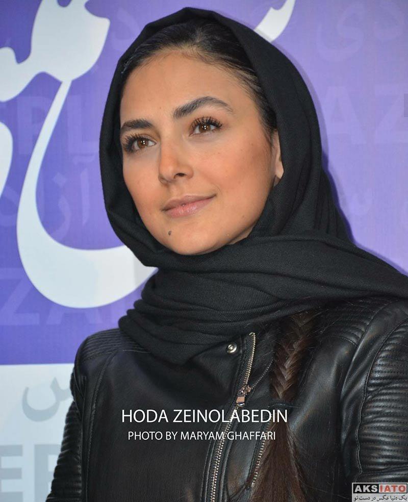 بازیگران جشنواره فیلم فجر  هدی زین العابدین در اکران فیلم عرق سرد در جشنواره فجر (۴ عکس)