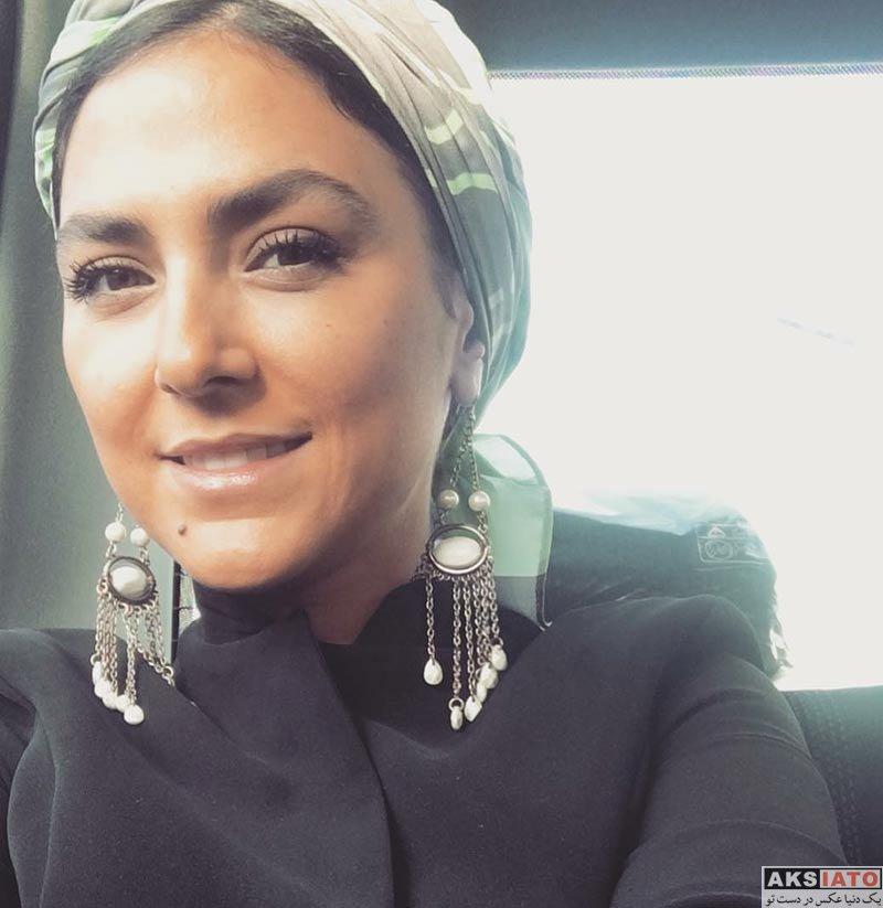 بازیگران بازیگران زن ایرانی  عکس های هدی زین العابدین در بهمن ماه ۹۶ (8 تصویر)