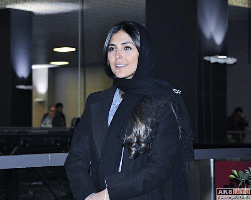 بازیگران جشنواره فیلم فجر  هدی زین العابدین در روز سوم جشنواره فیلم فجر 36 (7 عکس)