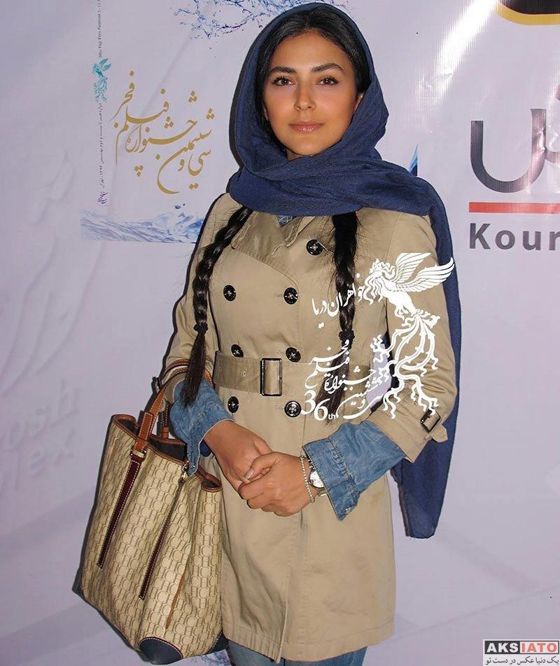 بازیگران جشنواره فیلم فجر  هدی زین العابدین در اکران فیلم عرق سرد در جشنواره فیلم فجر (۳ عکس)