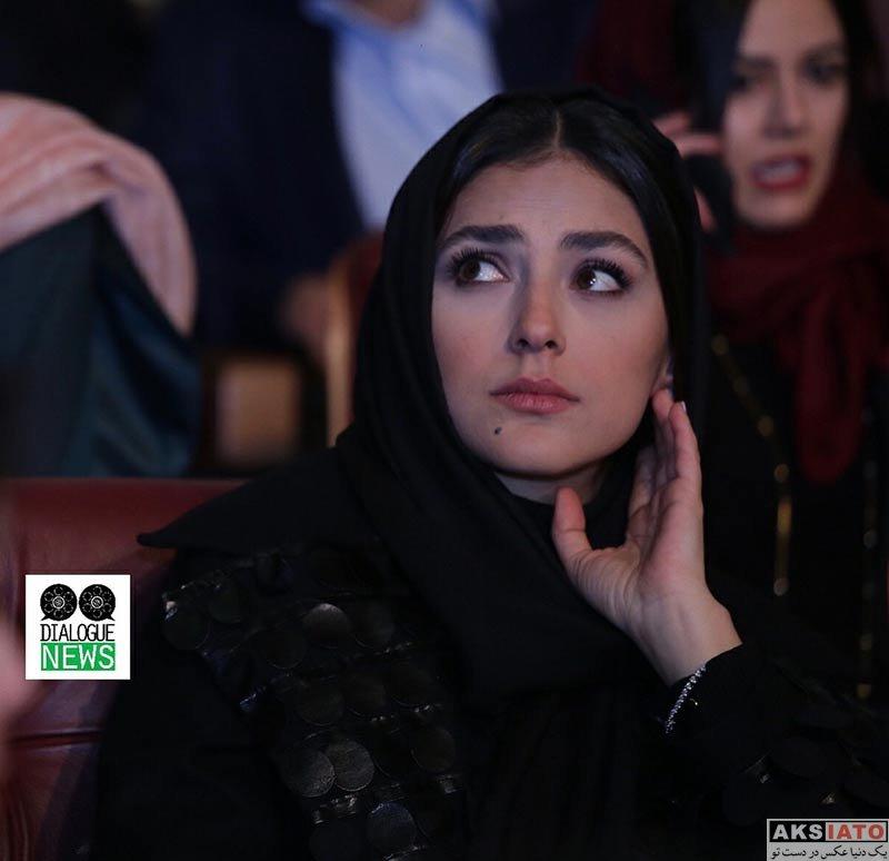 بازیگران جشنواره فیلم فجر  هدی زین العابدین در اختتامیه سی و ششمین جشنواره فیلم فجر (۸ عکس)